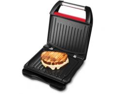 George Foreman Kontaktgrill Steel Compact Fitnessgrill rot 25030-56, 12000 W Grill SOFORT LIEFERBARE Haushaltsgeräte
