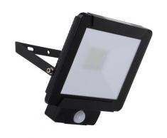 näve LED Außen-Wandleuchte STRAHLER, LED-Board, Kaltweiß schwarz LED-Lampen LED-Leuchten SOFORT LIEFERBARE Lampen Leuchten