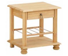 Home affaire Nachtkommode Mitu beige Nachtkonsolen und Nachtkommoden Nachttische Tische Sideboards