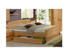 WIEMANN Funktionsbett Lausanne, teilmassiv beige Doppelbetten Betten
