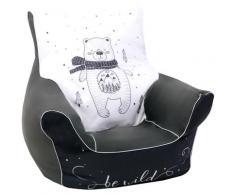 Knorrtoys Sitzsack Bear, für Kinder; Made in Europe schwarz Sitzsäcke Sitzhocker Kleinmöbel