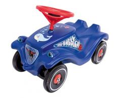 BIG Rutscherauto BIG-Bobby-Car-Classic Ocean, Made in Germany; mit Ozean-Aufklebersatz blau Kinder Ab 2 Jahren Altersempfehlung