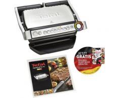 Tefal Kontaktgrill GC712D OptiGrill+, 2000 Watt schwarz Elektrogrills Grill Haushaltsgeräte