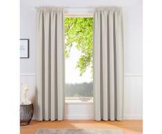 my home Verdunkelungsvorhang Sola beige Wohnzimmergardinen Gardinen nach Räumen Vorhänge