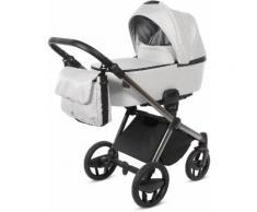 knorr-baby Kombi-Kinderwagen Set Life+ silber-grau, grau, Unisex, silber-grau