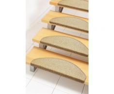 Stufenmatte Rambo Andiamo stufenförmig Höhe 4 mm maschinell getuftet, gelb, mais