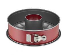 Kaiser Backformen Springform Classic Plus, 26cm rund mit 2 Böden rot Backbleche Kochen Backen Haushaltswaren