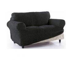 Sofahusse Gordon sofaskins, schwarz, Neutral, schwarz-grau