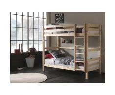 Vipack Etagenbett Pino, wahlweise mit Bettschublade beige Kinder Hochbetten Kinderbetten Betten