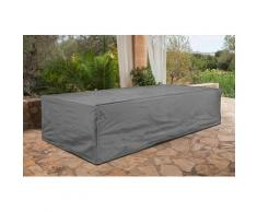 KONIFERA Gartenmöbel-Schutzhülle Siros, für ein Loungeset, (L/B/H): ca. 232x173x83 cm grau Gartenmöbel-Schutzhüllen Gartenmöbel Gartendeko