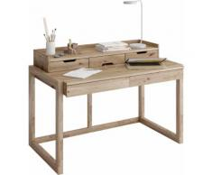 Home affaire Ablagetisch Work Aufsatz beige Schreibtische Bürotische und Büromöbel Tisch