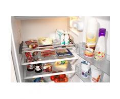 Ruco Spannregal, Aluminium/Kunststoff, (Zusatz-Kühlschrankboden), in der Breite verstellbar silberfarben Klemmregale Küchenregale und Haushaltsregale Regale Spannregal
