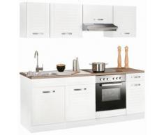 HELD MÖBEL Küchenzeile Falun weiß Küchenzeilen ohne Geräte -blöcke Küchenmöbel Arbeitsmöbel-Sets