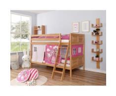 Ticaa Etagenbett Erni beige Kinder Kinderbetten Kindermöbel Etagenbetten
