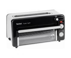 Tefal Minibackofen Toast-Grill und Mini-Ofen TL6008, 1300 W, kein Vorheizen notwendig schwarz 2-Scheiben-Toaster Toaster Haushaltsgeräte Backofen