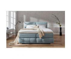 Guido Maria Kretschmer Home&Living Boxspringbett Wehma blau Doppelbetten Betten Komplettbetten