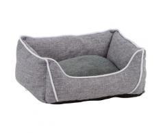SILVIO design Tiersofa Eliott S, BxLxH: 30x40x18 cm grau Hundebetten -decken Hund Tierbedarf