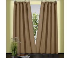 Weckbrodt Vorhang Sento beige Wohnzimmergardinen Gardinen nach Räumen Vorhänge