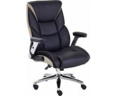 MCA furniture Schreibtischstuhl REAL COMFORT 2 schwarz Chefsessel Sessel Wohnzimmer