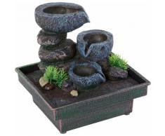 Home affaire Zimmerbrunnen »Floating Stones«, grau, grau