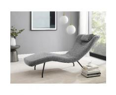 andas Polsterbank Ribe, in modernem Design grau Polsterbänke Sitzbänke Stühle