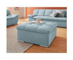 DOMO collection Sitzhocker Lagoa, in großer Farbauswahl blau Sitzsäcke Sitzwürfel Sessel Wohnzimmer