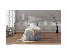 Guido Maria Kretschmer Home&Living Boxspringbett Wehma grau Doppelbetten Betten Komplettbetten