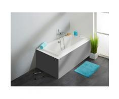 OTTOFOND Badewanne Cubic, mit Wannenträger und Ablaufgarnitur weiß Badewannen Whirlpools Bad Sanitär