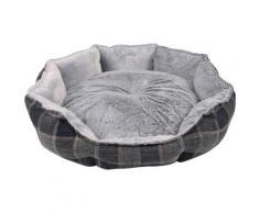 HEIM Tierbett Schottland, verschiedene Größen grau Hundebetten -decken Hund Tierbedarf