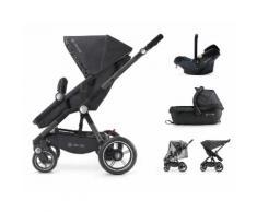 Concord Kombi-Kinderwagen inkl Babyschale Camino Travelset, schwarz, Unisex, cosmic black