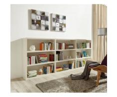 Raumteilerregal Toro, 9 Fächer, Breite 275,8 cm weiß Raumteiler Regale