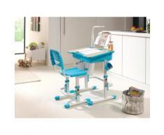 Vipack Kinder-Schreibtisch und Stuhl Comfortline ergonomisch höhenverstellbar, weiß