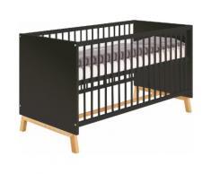 Schardt Babybett Sienna Black, Made in Germany schwarz Ab Geburt Altersempfehlung
