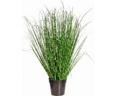 Creativ green Kunstgras Miscanthus Zebrinus grün Künstliche Zimmerpflanzen Kunstpflanzen Wohnaccessoires