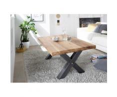 MCA furniture Couchtisch, Couchtisch Massivholz Wildeiche geölt braun Couchtische Tische Möbel sofort lieferbar