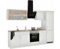 HELD MÖBEL Küchenzeile Utah, ohne E-Geräte, Breite 270 cm weiß Küchenzeilen Geräte -blöcke Küchenmöbel