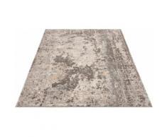 Teppich, Dorian, Home affaire, rechteckig, Höhe 12 mm, maschinell gewebt grau Gewebte Teppiche Orientteppich