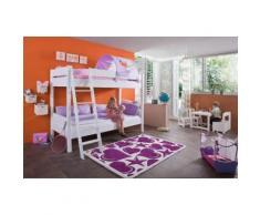 Relita Etagenbett lila Kinder Kinderbetten Kindermöbel