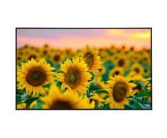Papermoon Infrarotheizung Feld der Sonnenblumen, sehr angenehme Strahlungswärme bunt Heizkörper Heizen Klima