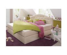 Home affaire Boxspringbett Amber beige Einzelbetten Betten Komplettbetten