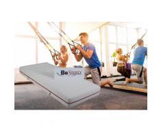 BeSports Komfortschaummatratze HS Plus 2200, 22 cm hoch, Raumgewicht: 35 kg/m³, (1 St.), Top für Rücken, Muskulatur und ihre Fitness weiß Allergiker-Matratzen Matratzen