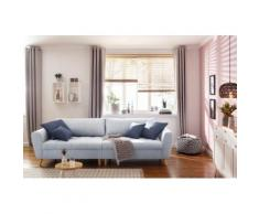 Home affaire Big-Sofa Penelope blau 3-Sitzer Sofas Einzelsofas Couches