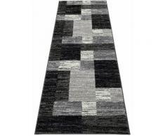 Läufer, Melvin, my home, rechteckig, Höhe 8 mm, maschinell gewebt schwarz Teppichläufer Läufer Bettumrandungen Teppiche