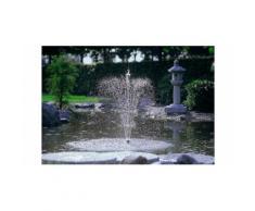 OASE Springbrunnenpumpe Aquarius Fountain 3500, 3.400 l/h schwarz Teichpumpen Teiche Garten Balkon