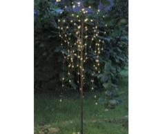 LED Baum Trauerweide, braun, Neutral, braun