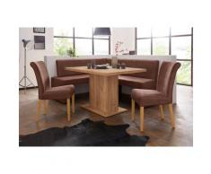 Eckbank Barcelona braun Eckbänke Sitzbänke Stühle