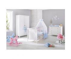 Pinolino Babyzimmer-Komplettset Smilla (Set 3-tlg), weiß, weiß