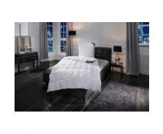 Daunenbettdecken + Kopfkissen 100% First Class Excellent leicht Füllung: Federn Daunen, weiß, leicht