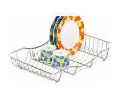 Zeller Present Geschirrständer silberfarben Abtropfgestelle Küchenhelfer Haushaltswaren