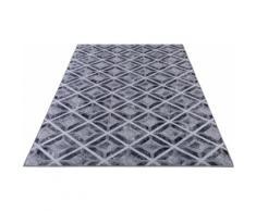 Teppich, Serena GF047, Gino Falcone, rechteckig, Höhe 7 mm, gedruckt grau Moderne Teppiche